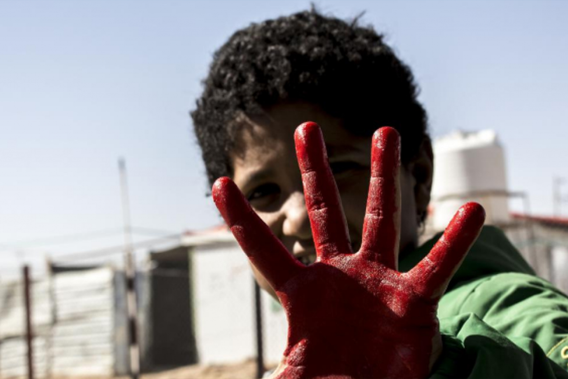 Participate in the Red Hand Day virtual event!