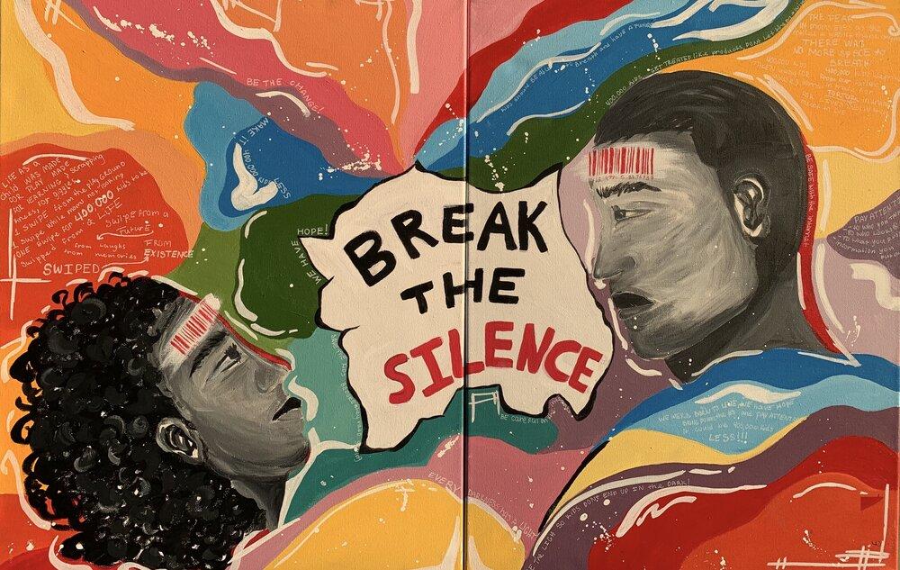 ¡Vea el arte ganador del concurso de Youth Against Child Trafficking!